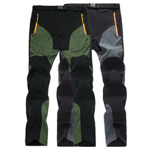 Мужские брюки для походов на открытом воздухе, мужские брюки для альпинизма, летние ультра-тонкие быстросохнущие брюки, мужские походные брюки для путешествий AM109