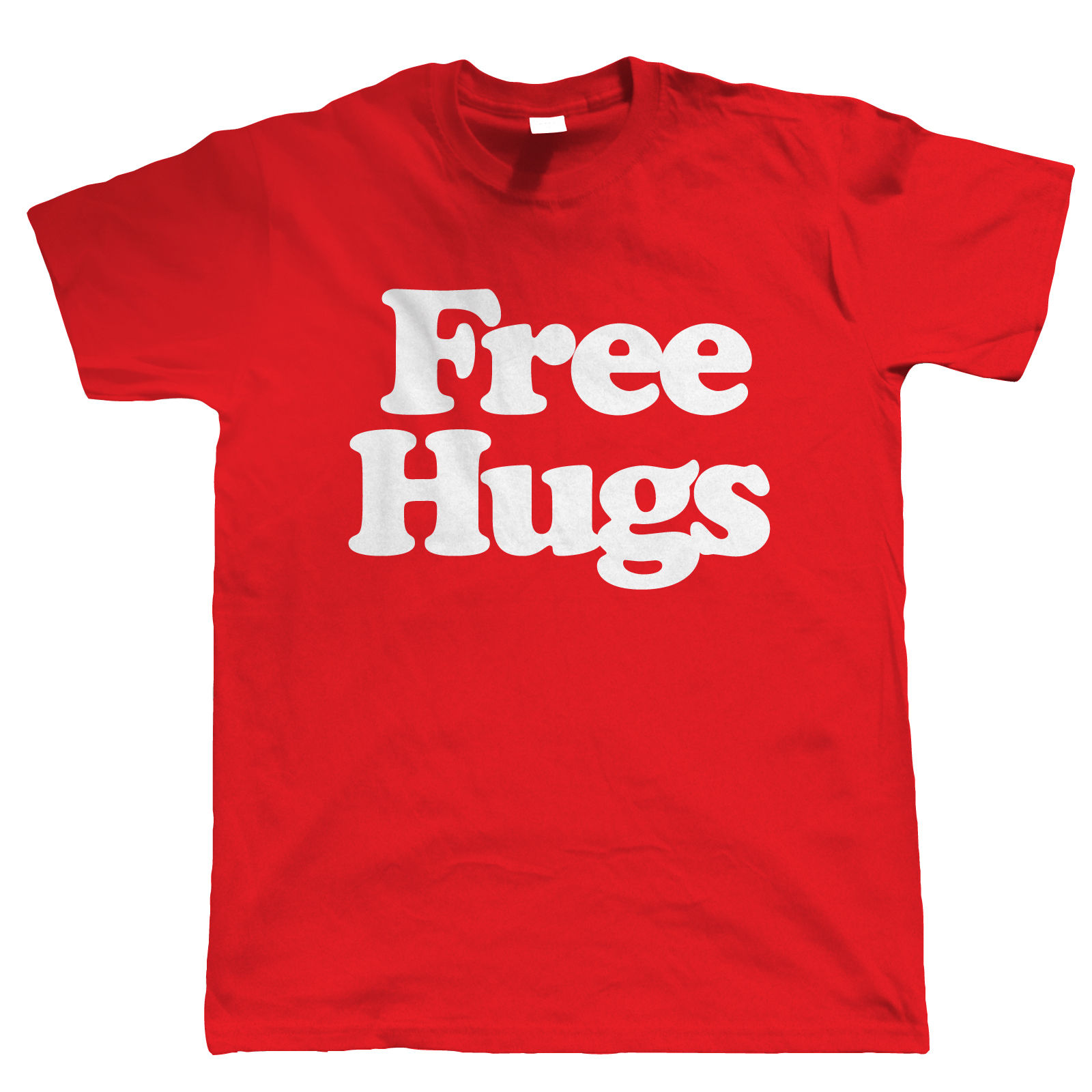 Us 13 04 13 Off Free Hugs Uomo Slogan Divertente T Shirt Compleanno Per Lui Dad Festa Del Papa Short Sleeved Print Letters T Shirt In T Shirts From