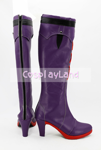 Image 3 - Honkai Impact 3 Yae Sakura Cosplay Boot Shoes Costume Accessories Halloween Party Boots for Adult Women High Heel Shoes