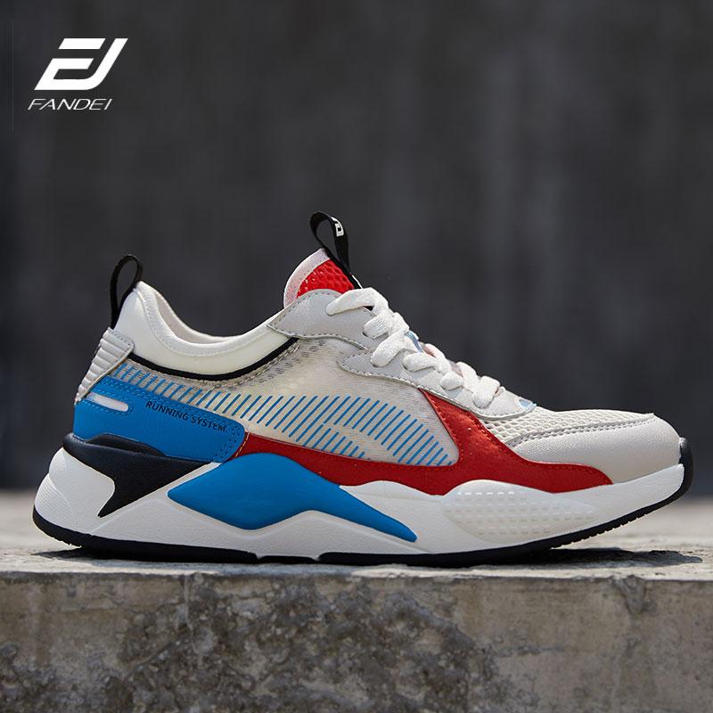 FANDEI New Trend Sport Shoes Men Running Shoes Zapatillas Hombre Deportiva Outdoor Men Sneakers Chaussure Homme Sport Spor Ayakk