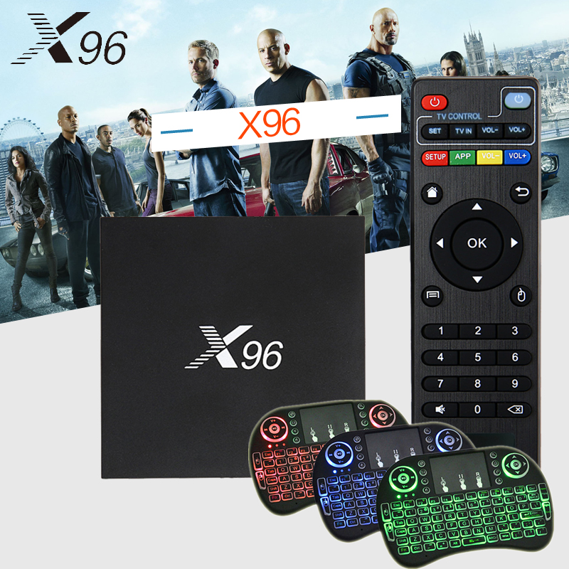 Original X96 Android 6.0 Smart TV Box KODI 17.3 Amlogic S905X 1/2GB RAM 8/16GB ROM 2.4G WIFI HDMI 4K HD Set Top BOX Media Player android tv box android 5 1 box mxqpro 4k amlogic s905 quad hdmi 2 0 kodi 16 0 loaded add ons wifi 4k 1080p wifi smart tv box