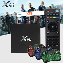 Original X96 Android 6.0 Smart TV Box KODI 17.3 Amlogic S905X 1/2GB RAM 8/16GB ROM 2.4G WIFI HDMI 4K HD Set Top BOX Media Player