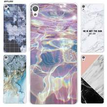 Marble Stone Case for Sony Xperia XA XA1 X XZ Z5 Z1 Z2 Z3 M4 Aqua M5 E4 E5 C4 C5 Compact Premium Coque Clear Hard PC Cover shell(China)