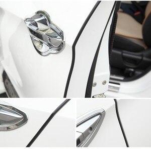 Image 5 - 5 M/pak Universele Auto Deur Edge Guards Trim Styling Moulding Protection Strip Kras Protector Voor Auto Voertuig