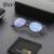 Borrar marco redondo gafas de moda marcos de anteojos recetados acetato marcos ópticos miopía gafas mujeres informáticos 11