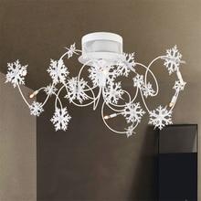 Post Modern Led Ceiling Lamp Living Room Decorative Lighting White LED Lights Bedroom Study Restaurant Hanging