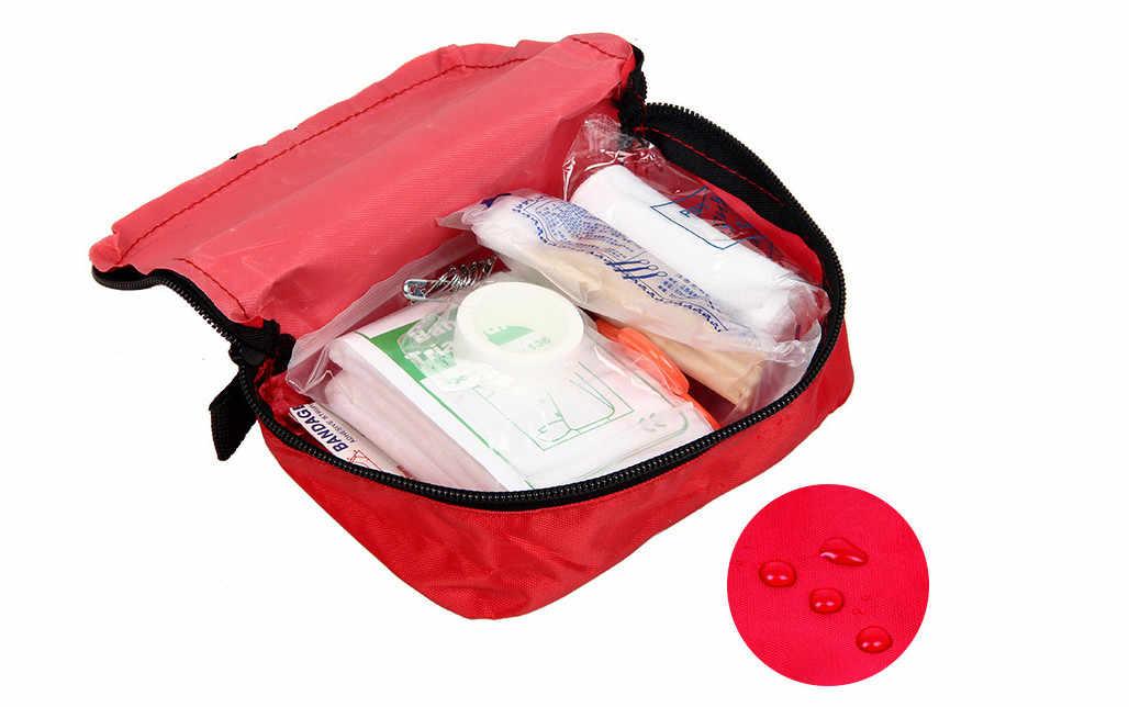 Portable Camping First Aid Kit Emergency Medical Bag Waterproof Car kits bag Outdoor Travel Survival kit Empty bag Househld