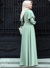 Cloak large size abaya dress abaya kimono robe orientale soiree muslim clothing women robe dubai arabe kaftan