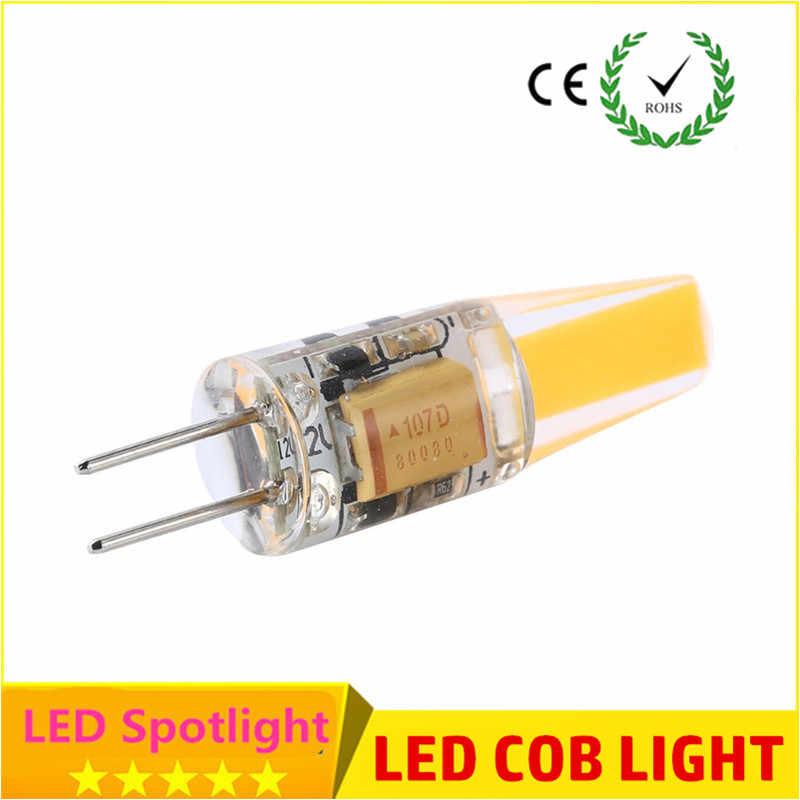 Новый G4 COB светодиодный светильник AC DC 12 В 6 Вт AC220V 6 Вт 10 Вт светодиодный G4 лампа Кристалл светодиодный светильник Лампада лампада Bombilla Ampoule светодиодный G4 6 Вт 9 Вт