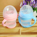 Baby feeding bottle160ml baby feeding water milk bottle soft mouth duckbill Sippy Infant training bottles for babies bpa free