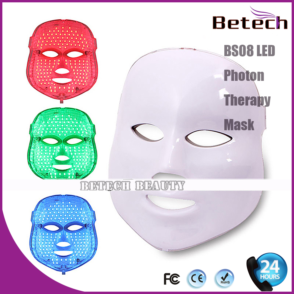 Photon Therapy Facial Skin Care Treatment Machine Facial Toning Mask - 7 Colors Photon Light anti acne pigment removal photon led light therapy facial beauty salon skin care treatment massager machine