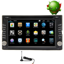 Radio Touchscreen Auto GPS Stereo Video 2 din Player WiFi Receiver CD Android 5.1 Car DVD OBD2 FM Bluetooth Digital TV