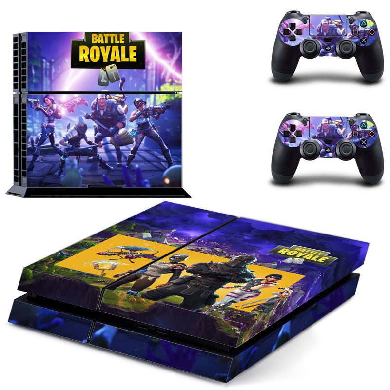Skin Sticker For PS4 Console Game  Vinyl For Sony PlayStation 4 Console and 2 Controllers Skins For PS4 Stickers