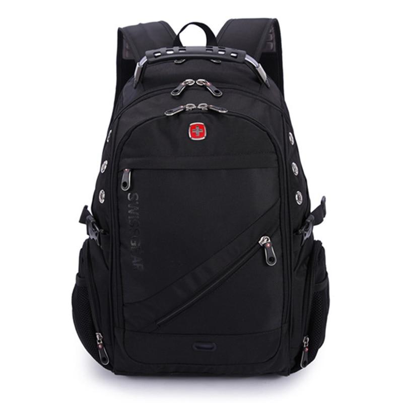 VENIWAY 2018 Quality Waterproof Nylon Swiss Gross Gear Backpack Men 15 Inch Laptop Bag Sac A Dos Men Backpacks Travel Backpack