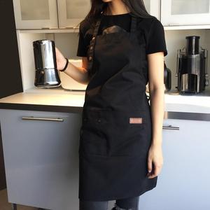 Image 4 - Lady women men ajustável lona de alta qualidade cozinha avental para cozinhar cozimento restaurante manicure salão de beleza casa evitar óleo