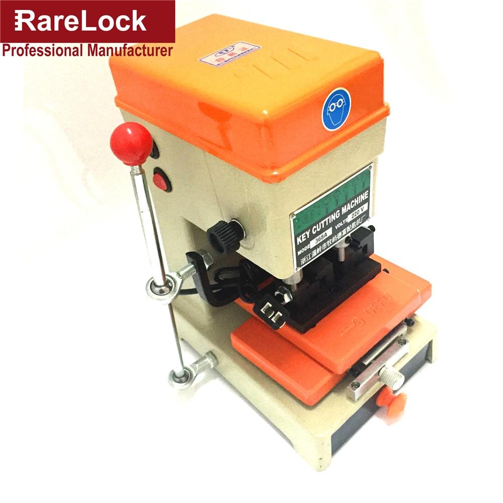 Rarelock 368A Car Door Key Cutting Copy Machine Professional Duplicated Locksmith Supplies Tools a