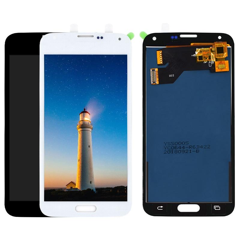 Per Samsung S5 Display G900 A CRISTALLI LIQUIDI per Samsung Galaxy SM-G900 G900F S5 LCD con Touch Assemblea di Schermo di RicambioPer Samsung S5 Display G900 A CRISTALLI LIQUIDI per Samsung Galaxy SM-G900 G900F S5 LCD con Touch Assemblea di Schermo di Ricambio