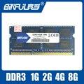 BINFULBrand Nuevo Sellado DDR3 1066/1333/1600 PC3 102800/2 gb/4 GB/8 GB Laptop Memoria RAM/garantía de Por Vida/Envío Libre!!!