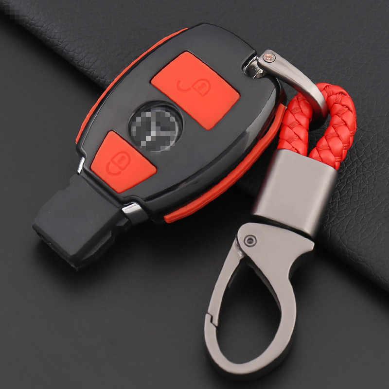 Porte-clés en Fiber de carbone pour voiture porte-clés pour Mercedes Benz AMG W203 W210 W211 W124 W202 W204 W205 W212 W176