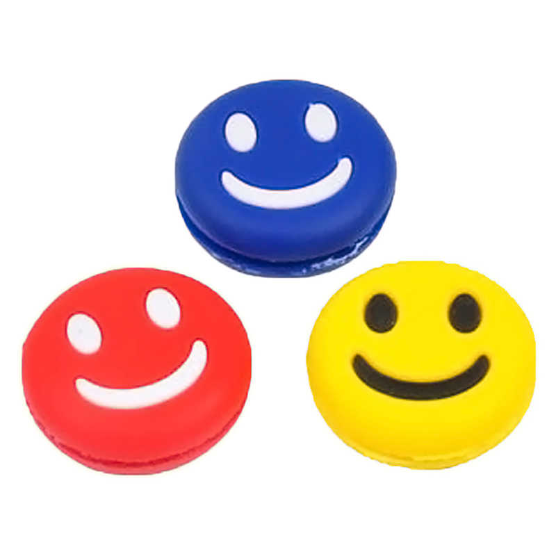 Natural Rubber Smiling Face Tennis Racket Shock Absorber Tennis Shock Absorber