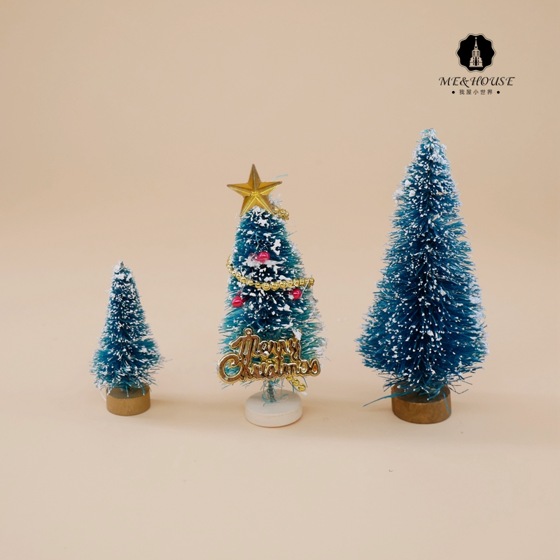 Christmas Tree Toys Handmade.Us 0 79 1 12 Doll House Mini Dollhouse Christmas Tree Wooden Stand Handmade X Mas Decoration In Doll Houses From Toys Hobbies On Aliexpress Com