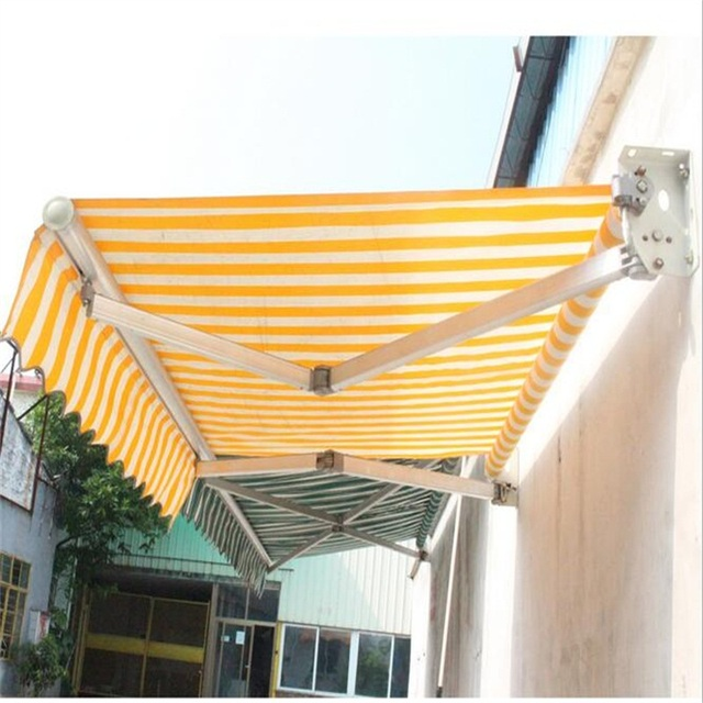 2*1.5M Outdoor Gazebos Telescopic sheds Waterproof Folding canopy Manual remote awning : foldable canopy - memphite.com