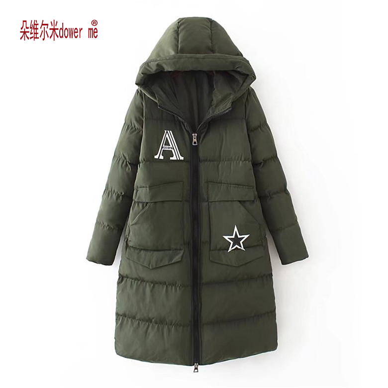 dower me Cotton black long parka coat Women jacket zipper padded pocket outerwear parkas  winter casual overcoat parka female e27 umbrella bulb 24w 36w led bulb golden aluminum shell led lamp ac 110v 220v 240v led light smd5730 warm cold white light