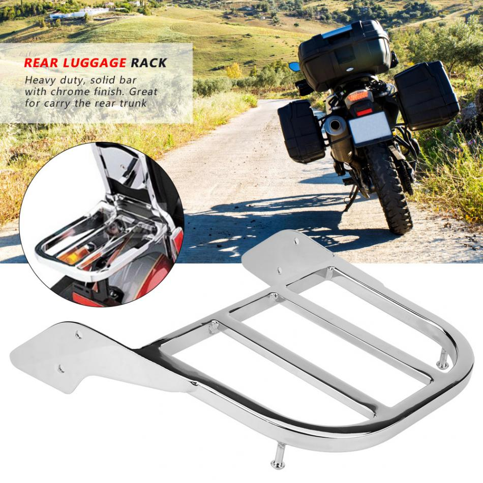 Motorcycle Rear Sissy Bar Luggage Rack for Honda Shadow VT750 C2 1997 1998 1999 2000 2001 2002 2003 Silver Chrome-in Covers & Ornamental Mouldings from Automobiles & Motorcycles    1