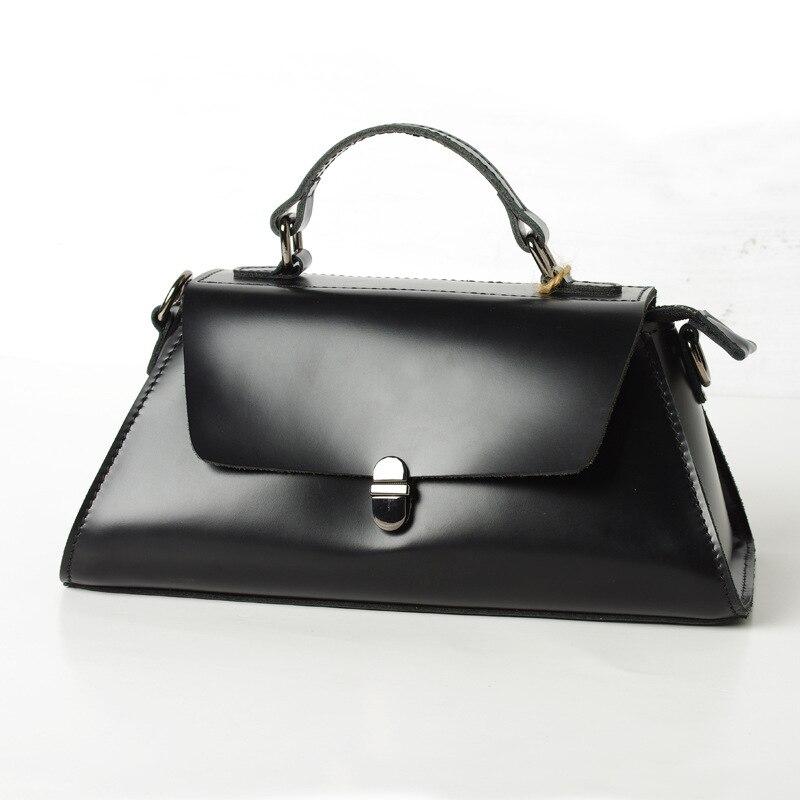 Новое поступление модные дизайнерские Для женщин Сумочка Черный Роскошные из натуральной кожи Crossbody женская сумка из натуральной кожи сумк