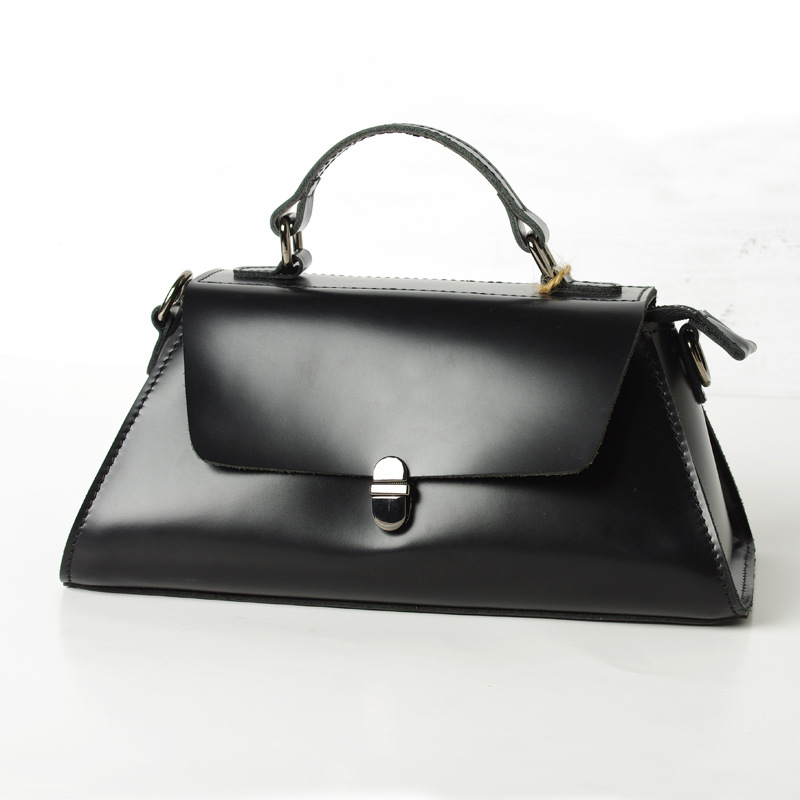 New Arrival Fashion Design Women Handbag Black Luxury Genuine Leather Crossbody Bag Lady Real Leather Shoulder Bag Totes Bolsa newest luxury brand women bag fashion design cowhide leather handbag lady totes sequined original shoulder bag