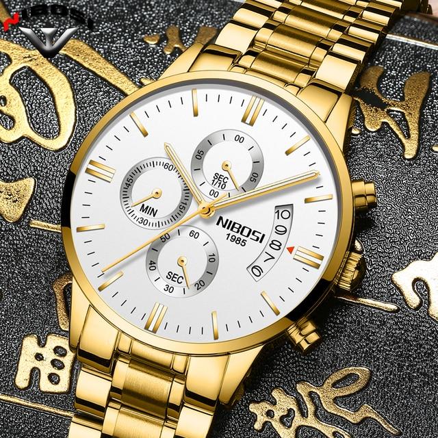 2019 NIBOSI Luxury Brand Watches 1