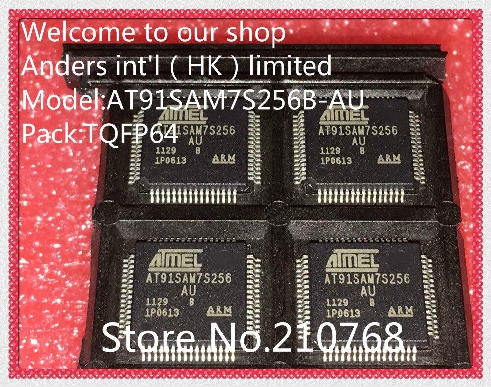 5pcs Atmel AT91SAM7S256AU AT91SAM7S256-AU TQFP64 IC Chip