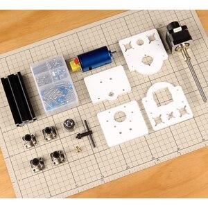 Image 3 - Soporte de módulo láser eje Z y eje Motor Z, Kits de eje Z, conjunto integrado de piezas de taladro, Kit de actualización DIY para grabador láser CNC Router