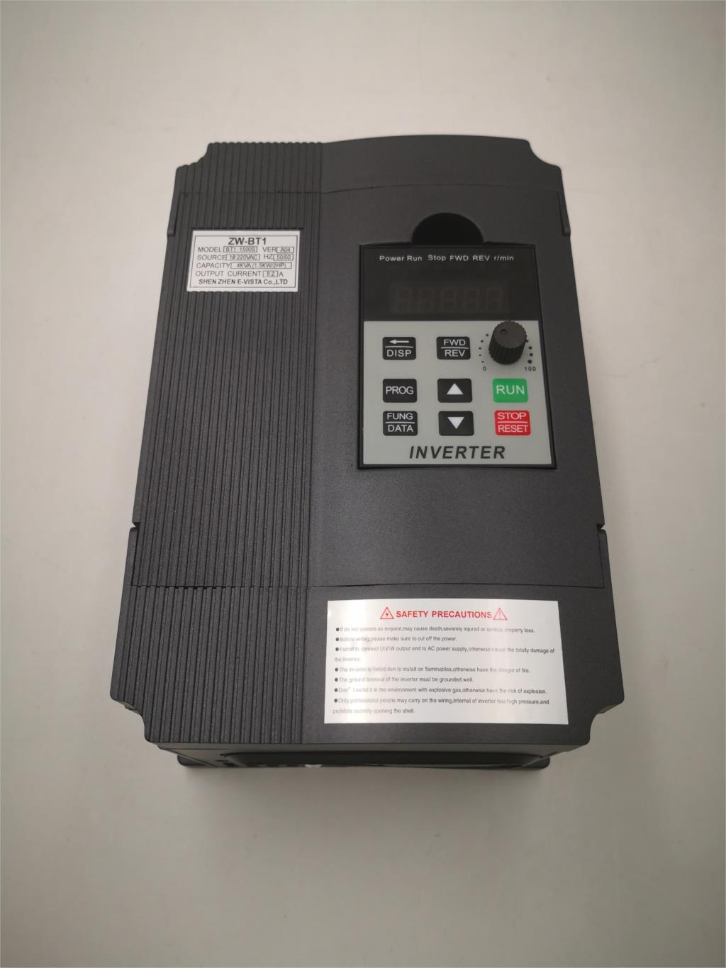 VFD 750W 220V Single Phase Input and Output 3 Phases 220V Frequency Inverter Free shipping-in Inverters & Converters from Home Improvement    1
