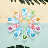 50 PCS/lot Kawaii 5mm*6m deco correction tape Mini correcting tapes stationery Office accessories School supplies 00216
