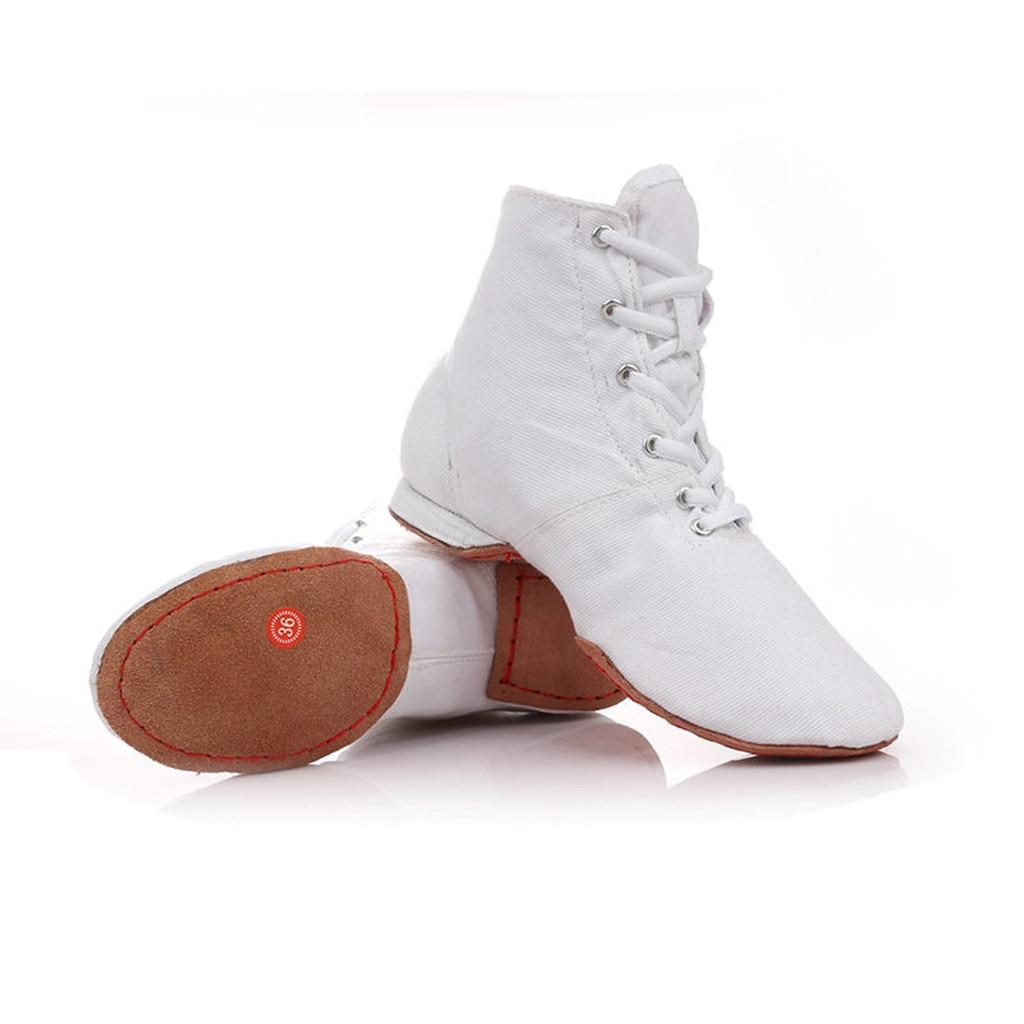 De Des Remise Dames Chaussures Ballet En Sneakers Formateurs Respirant Femmes rouge Mesh Forme blanc Unisexe Danse Jazz Tissu Noir Latine qAxwOn5O
