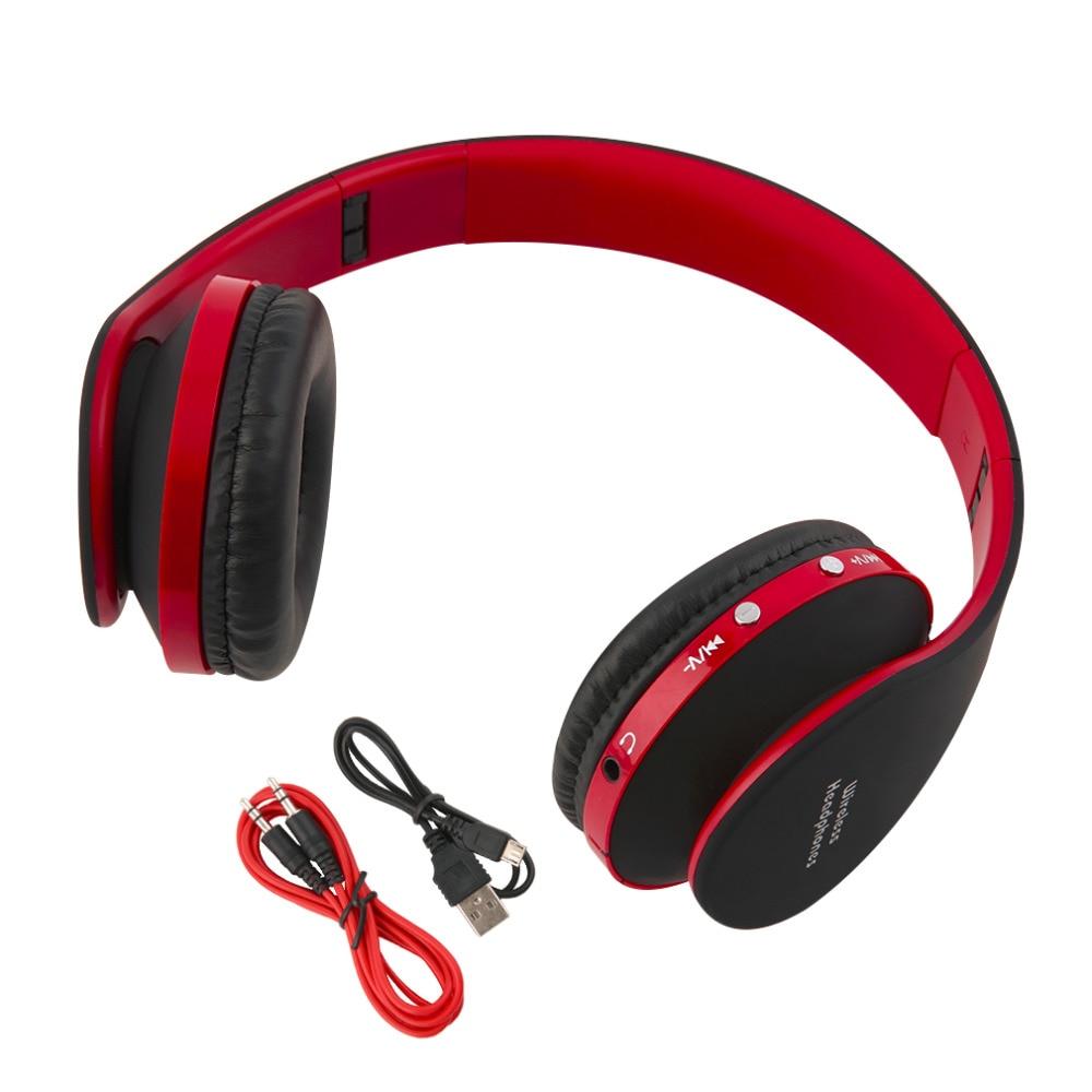Bluetooth Wireless Headset Over Ear: 2016 Newest Foldable Wireless Bluetooth Headset Stereo Over Ear Headphone Earphone Hot Sale-in