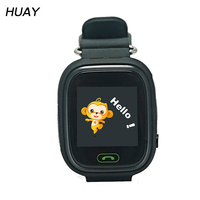 2018 Hot GPS Tracking watch for kids Touch Screen location GPS Watch Children SOS Call Finder Tracker Safe GPS watch Q90