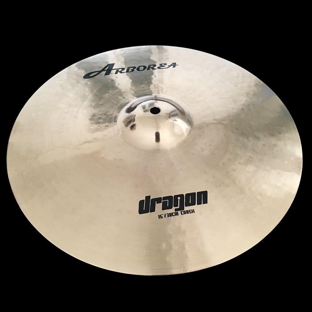 Arborea Cymbals Dragon Series B20 15 Crash 100% Handmade for Pop and RockArborea Cymbals Dragon Series B20 15 Crash 100% Handmade for Pop and Rock