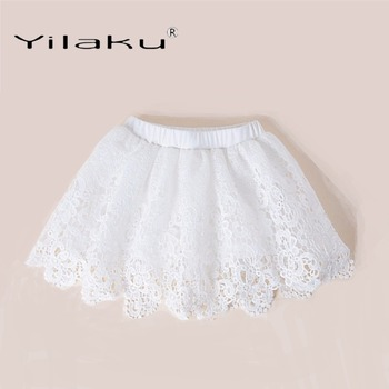 Yilaku Girls Skirts Fashion Lace Skirt For Girl Tutu Skirt Summer Kids Clothes Pleated Toddler Baby Girl Skirts CI057