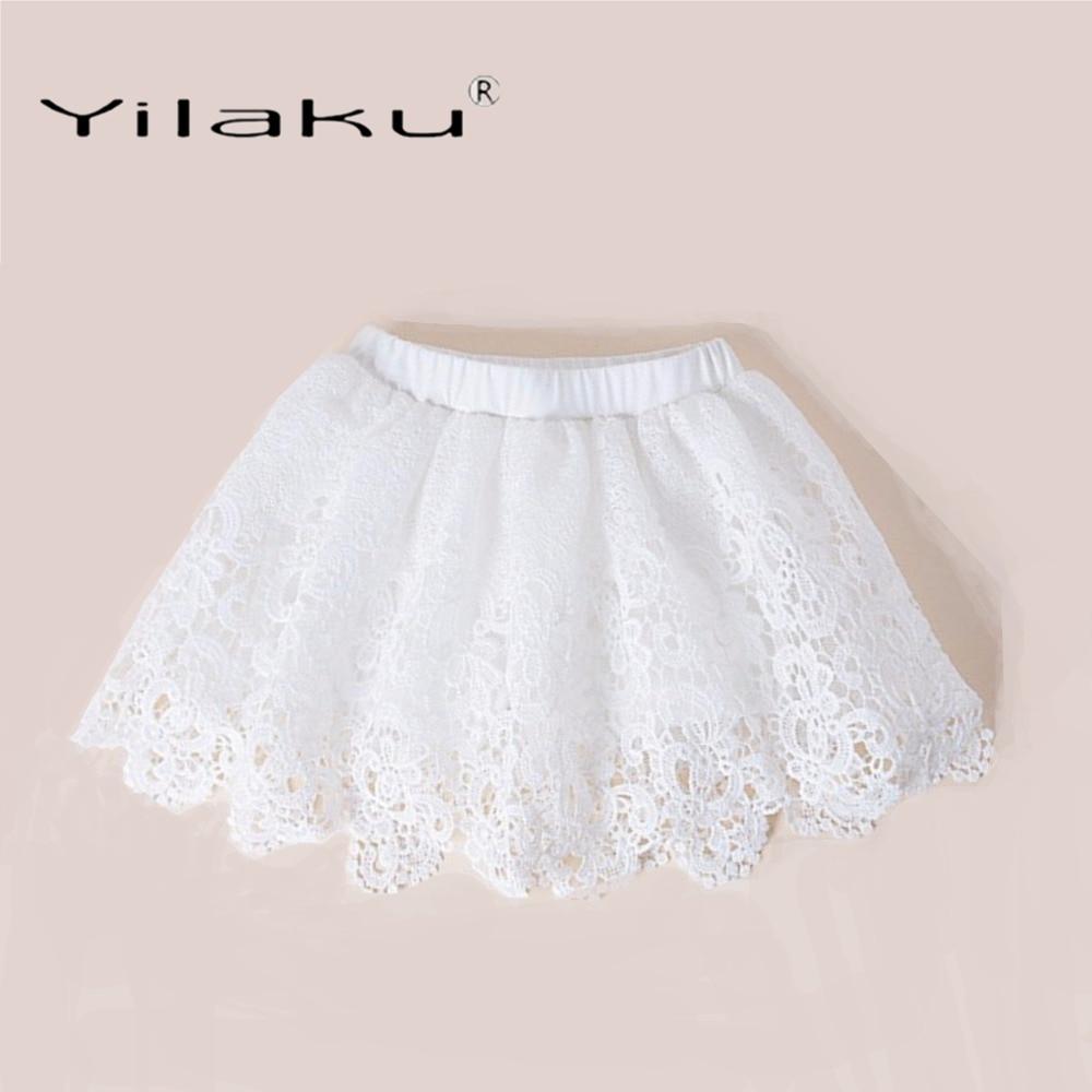 Mädchen Kleidung Gelernt Yilaku Mädchen Röcke Mode Spitze Rock Für Mädchen Tutu Rock Sommer Kinder Kleidung Plissee Kleinkind Baby Mädchen Röcke Ci057