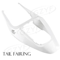 Unpainted Tail Rear Fairing Cover Bodykits Bodywork for HONDA CBR600RR F5 2005 2006, ABS Plastic