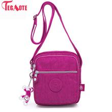 TEGAOTE Women Messenger Bag Fashion Printing Small Bags for Ladies Nylon Handbag Women's Shoulder Bag Crossbody Bag Bolsa