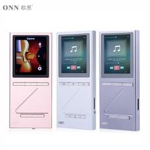 Onn x5 reproductor de mp3 reproductor de audio hifi dac 8 gb lettore con fm reproductor de música de apoyo ape/flac/alac/wav/wma/ogg/mp3 reproductor de audio