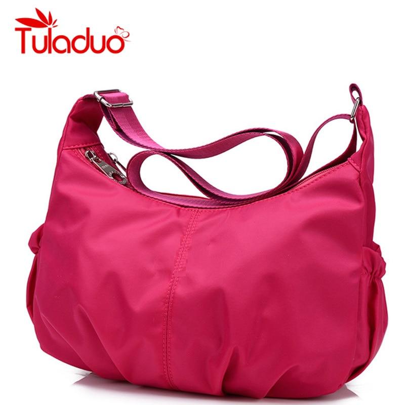 Women Crossbody Hobos Bag Ladies Nylon Handbag Travel Casual Bag Leisure Fashion Original Bags Bolsos Mujer Brand Bag Purse майка женская roxy hey joe ta white