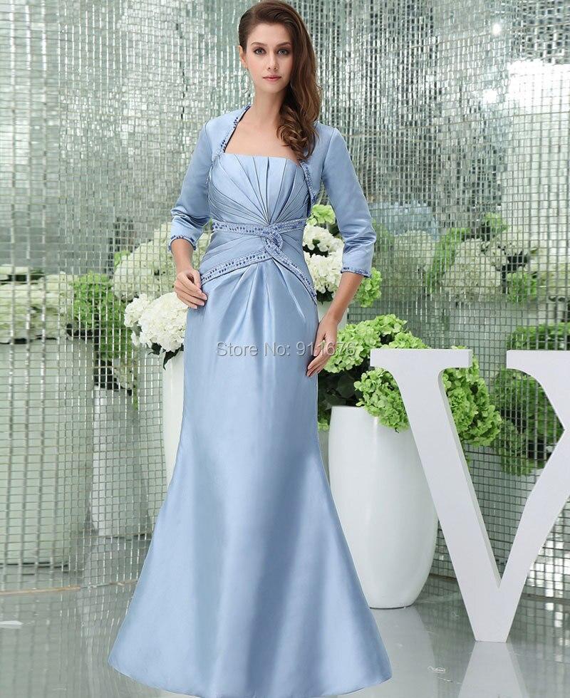 Fantastisch Hellblaue Mutter Der Braut Kleider Zeitgenössisch ...