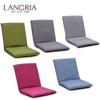 Foldable Floor Chair Adjustable Relaxing Lazy Sofa Seat Cushion Lounger Single-person Folding Bed Small Sofa Back Chair Window - DISCOUNT ITEM  41% OFF All Category