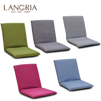 Foldable Floor Chair Adjustable Relaxing Lazy Sofa Seat Cushion Lounger Single person Folding Bed Small Sofa Back Chair Window