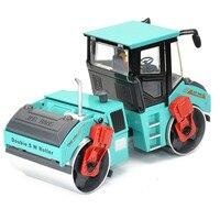 1:50 Doppio SW. rullo Camion Giocattolo pressofuso In Metallo e ABS Doppia Strada Rulli Modello di Camion di Ingegneria Veicoli Giocattoli Per Bambini Juguetes