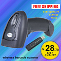JP-B2 Wireless Barcode Scanner wireless 433HZ bar code scanner laser wireless High Specification Scanning 1D Codes Quakeproof
